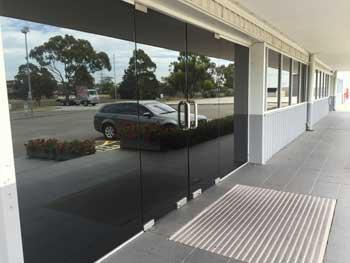 Office windows tinted in Wollongong