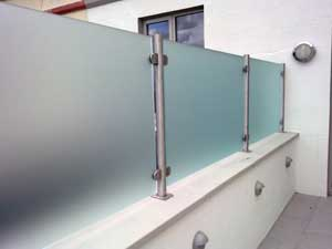 Frosted Film For Glass Balustrade And Pool Fence Online